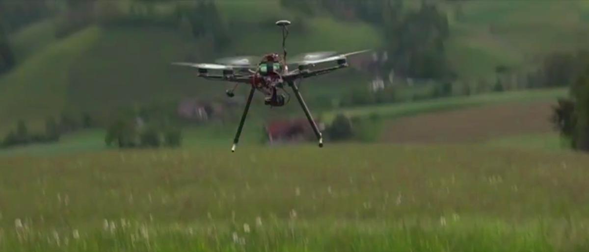 Rehkitzrettung mit Spezial-Drohne
